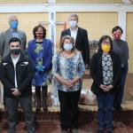 La empresa aportó 400 vacunas para vecinos de Lampa y Quilicura