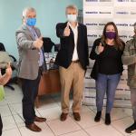 La donación de alimentos llegó a nueve comunas del país