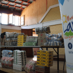 En Lampa y Quilicura se entregaron de 600 prendas de ropa